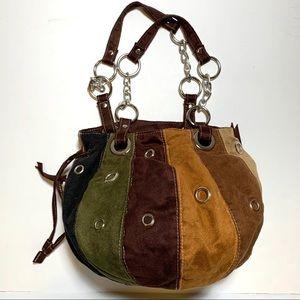 BOHO Style Multicolor Bucket Bag